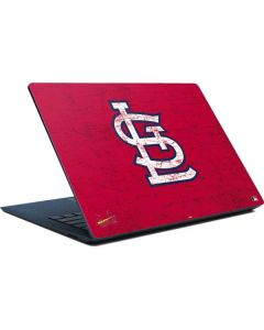 St. Louis Cardinals - Solid Distressed Surface Laptop Skin