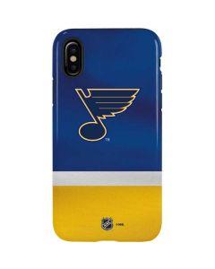 St. Louis Blues Jersey iPhone XS Pro Case