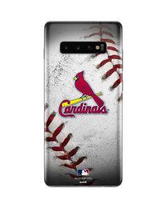 St. Louis Cardinals Game Ball Galaxy S10 Plus Skin