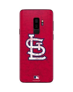 St. Louis Cardinals - Solid Distressed Galaxy S9 Plus Skin