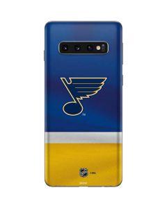 St. Louis Blues Jersey Galaxy S10 Skin