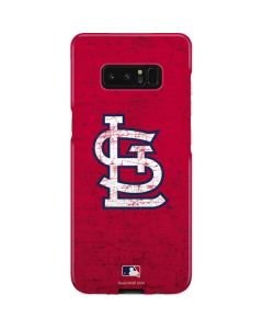 St. Louis Cardinals - Solid Distressed Galaxy Note 8 Lite Case
