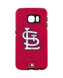 St. Louis Cardinals - Solid Distressed Galaxy S7 Edge Pro Case