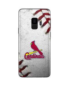 St. Louis Cardinals Game Ball Galaxy S9 Skin