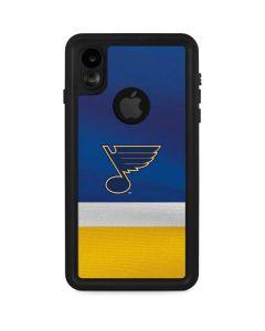 St. Louis Blues Jersey iPhone XR Waterproof Case