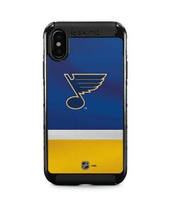 St. Louis Blues Jersey iPhone XS Cargo Case