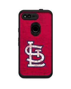St. Louis Cardinals - Solid Distressed LifeProof Fre Google Skin