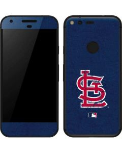 St. Louis Cardinals- Alternate Solid Distressed Google Pixel Skin