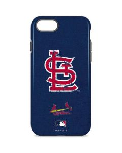St. Louis Cardinals- Alternate Solid Distressed iPhone 8 Pro Case