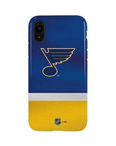 St. Louis Blues Jersey iPhone XR Pro Case