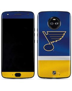 St. Louis Blues Jersey Moto X4 Skin