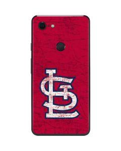 St. Louis Cardinals - Solid Distressed Google Pixel 3 XL Skin