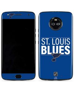 St. Louis Blues Lineup Moto X4 Skin