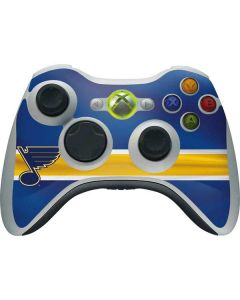 St. Louis Blues Jersey Xbox 360 Wireless Controller Skin