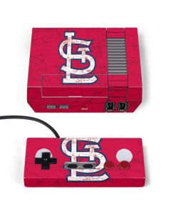 St. Louis Cardinals - Solid Distressed NES Classic Edition Skin