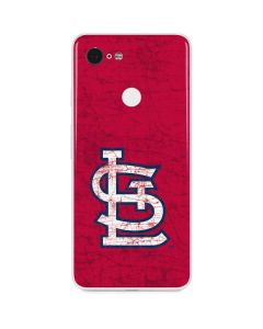 St. Louis Cardinals - Solid Distressed Google Pixel 3 Skin