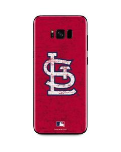St. Louis Cardinals - Solid Distressed Galaxy S8 Skin