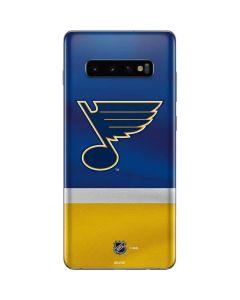 St. Louis Blues Jersey Galaxy S10 Plus Skin