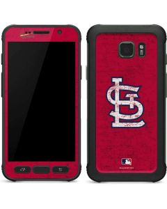 St. Louis Cardinals - Solid Distressed Galaxy S7 Active Skin