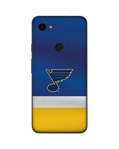 St. Louis Blues Jersey Google Pixel 3a XL Skin