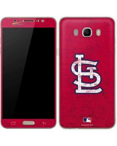 St. Louis Cardinals - Solid Distressed Galaxy J7 Skin