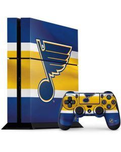 St. Louis Blues Jersey PS4 Console and Controller Bundle Skin