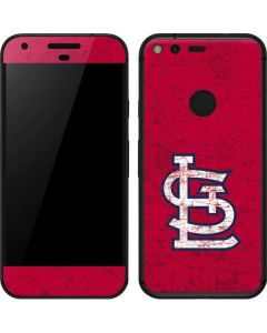 St. Louis Cardinals - Solid Distressed Google Pixel XL Skin