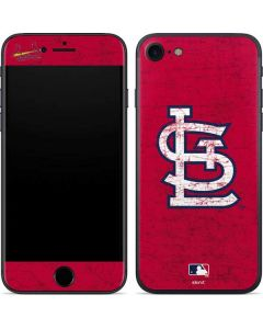 St. Louis Cardinals - Solid Distressed iPhone 7 Skin