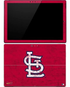 St. Louis Cardinals - Solid Distressed Surface Pro 4 Skin