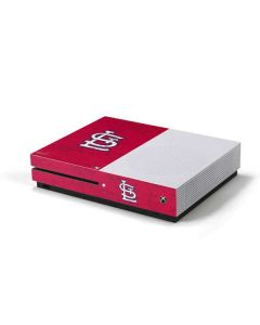 St. Louis Cardinals - Solid Distressed Xbox One S Console Skin