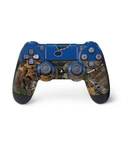 St. Louis Blues Realtree Xtra Camo PS4 Pro/Slim Controller Skin