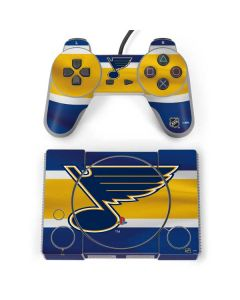 St. Louis Blues Jersey PlayStation Classic Bundle Skin