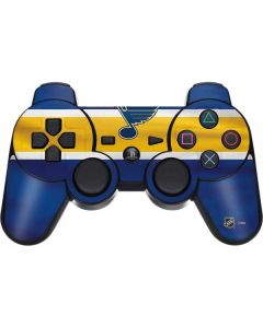 St. Louis Blues Jersey PS3 Dual Shock wireless controller Skin