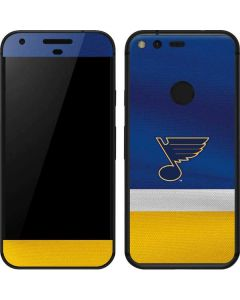 St. Louis Blues Jersey Google Pixel Skin