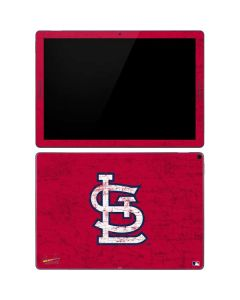 St. Louis Cardinals - Solid Distressed Google Pixel Slate Skin