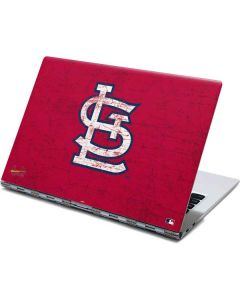 St. Louis Cardinals - Solid Distressed Yoga 910 2-in-1 14in Touch-Screen Skin