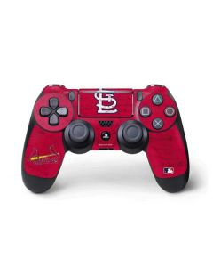 St. Louis Cardinals - Solid Distressed PS4 Pro/Slim Controller Skin