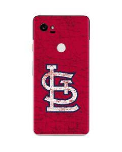 St. Louis Cardinals - Solid Distressed Google Pixel 2 XL Skin
