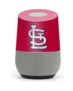 St. Louis Cardinals - Solid Distressed Google Home Skin
