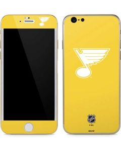St. Louis Blues Color Pop iPhone 6/6s Skin