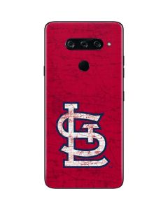 St. Louis Cardinals - Solid Distressed LG V40 ThinQ Skin
