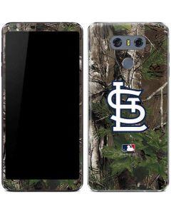 St. Louis Cardinals Realtree Xtra Green Camo LG G6 Skin