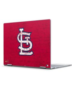 St. Louis Cardinals - Solid Distressed Pixelbook Skin