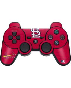 St. Louis Cardinals - Solid Distressed PS3 Dual Shock wireless controller Skin