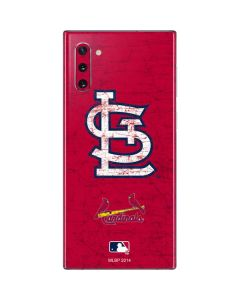 St. Louis Cardinals - Solid Distressed Galaxy Note 10 Skin