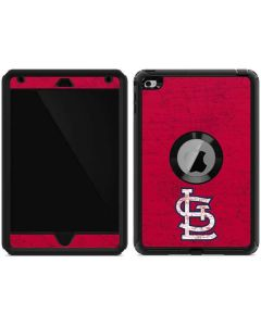 St. Louis Cardinals - Solid Distressed Otterbox Defender iPad Skin