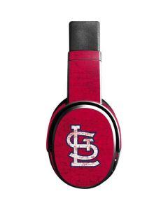 St. Louis Cardinals - Solid Distressed Skullcandy Crusher Wireless Skin