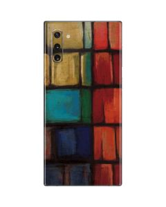 Stained Glass Galaxy Note 10 Skin