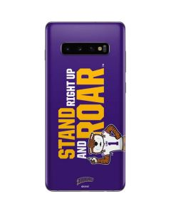 Stand Right Up And Roar LSU Tigers Galaxy S10 Plus Skin