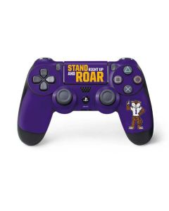 Stand Right Up And Roar LSU Tigers PS4 Controller Skin